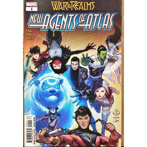 WAR OF THE REALMS : NEW AGENTS OF ATLAS #1 9.8 NM CONDITION