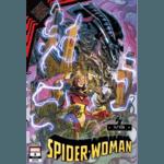SPIDER-WOMAN #8 GARRON MARVEL VS ALIEN VAR KIB