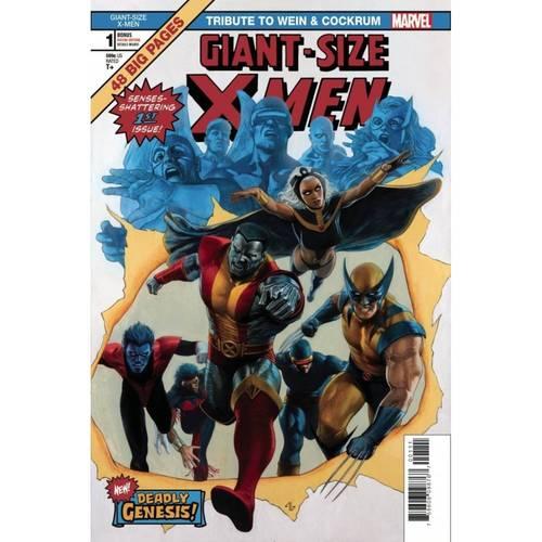 GIANT SIZE X-MEN TRIBUTE WEIN COCKRUM #1 MOORE VAR