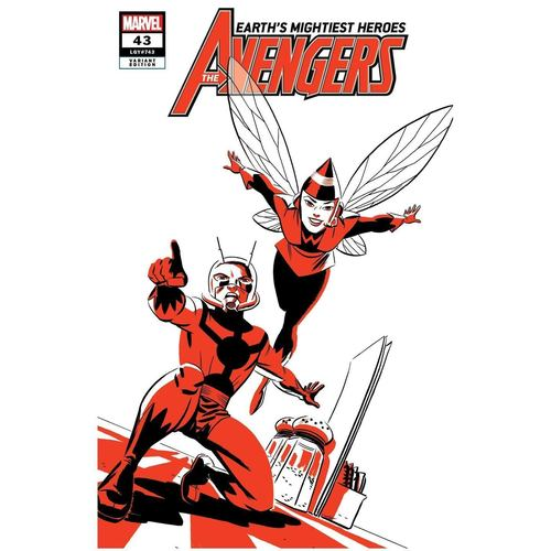 AVENGERS 43 ANT-MAN AND WASP TWO-TONE VAR