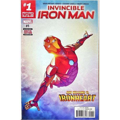 INVINCIBLE IRON MAN 1 2017