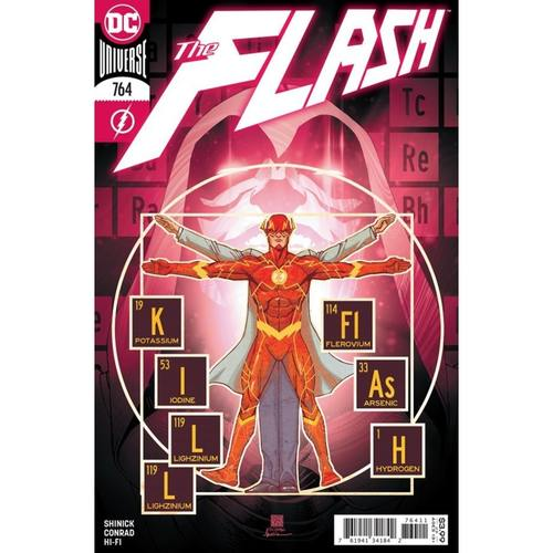 FLASH #764 CVR A BERNARD CHANG