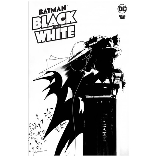 BATMAN BLACK AND WHITE #2 (OF 6) CVR A JOCK