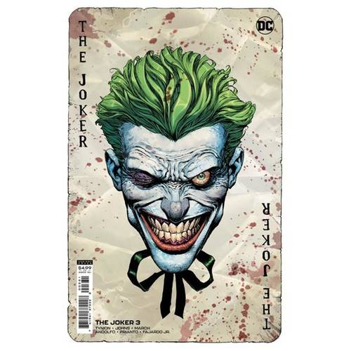 JOKER #3 CVR B DAVID FINCH VAR