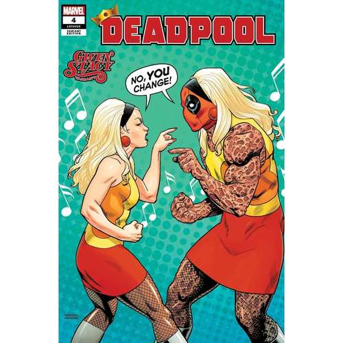 DEADPOOL 4 HAWTHORNE GWEN STACY VAR