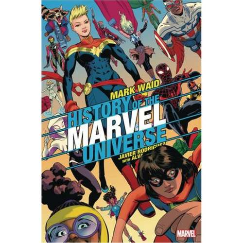 HISTORY OF MARVEL UNIVERSE 6 OF 6 RODRIGUEZ VAR