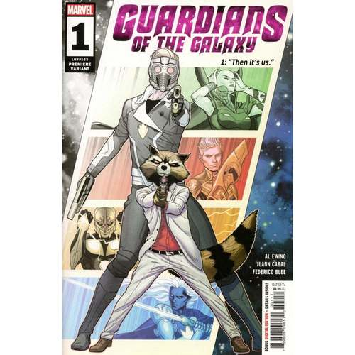 GUARDIANS OF THE GALAXY #1 - CABAL PREMIERE VAR