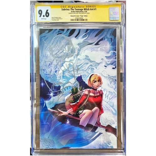 SABRINA THE TEENAGE WITCH : SOMETHING WICKED #1 NIGHT VARIANT CGC 9.6 YELLOW LABEL