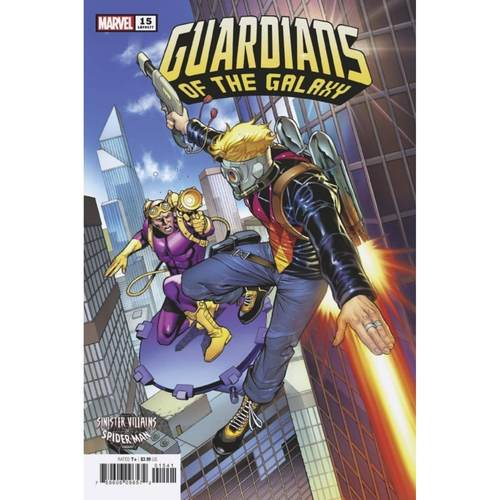 GUARDIANS OF THE GALAXY #15 PACHECO SPIDER-MAN VILLAINS VAR