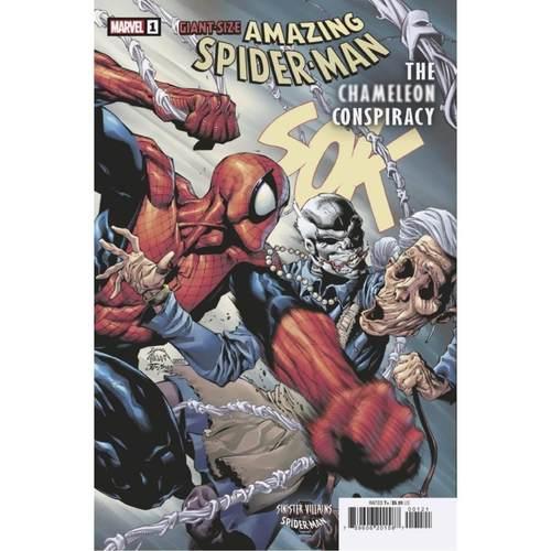 GIANT-SIZE AMAZING SPIDER-MAN CHAMELEON CONSPIRACY #1 VAR ST