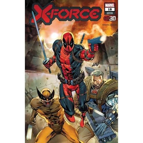 X-FORCE #18 LIEFELD DEADPOOL 30TH VAR