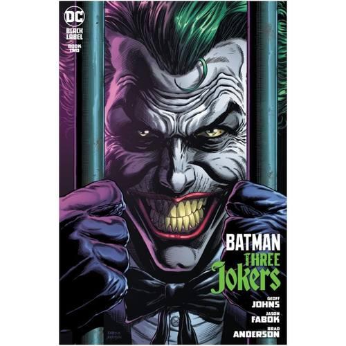 BATMAN THREE JOKERS #2 (OF 3) PREMIUM VAR D BEHIND BARS
