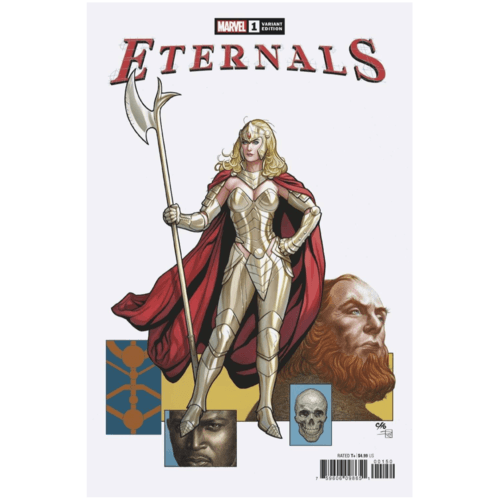 ETERNALS #1 FRANK CHO VAR