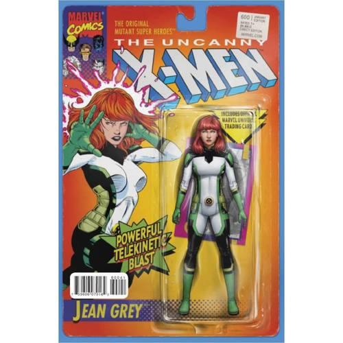 UNCANNY X-MEN #600 JOHN TYLER CHRISTOPHER ACTION FIGURE VARIANT