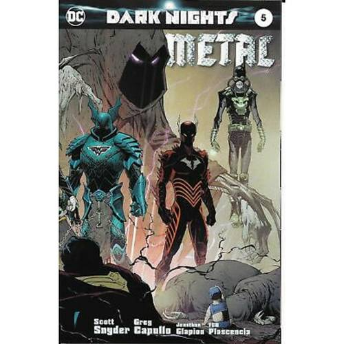 DARK NIGHTS METAL #5 PLANET COMICON KANSAS CITY VARANT