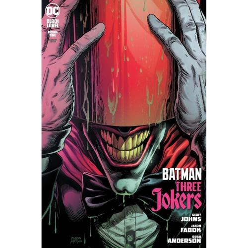 BATMAN THREE JOKERS 1 OF 3 PREMIUM VAR A RED HOOD