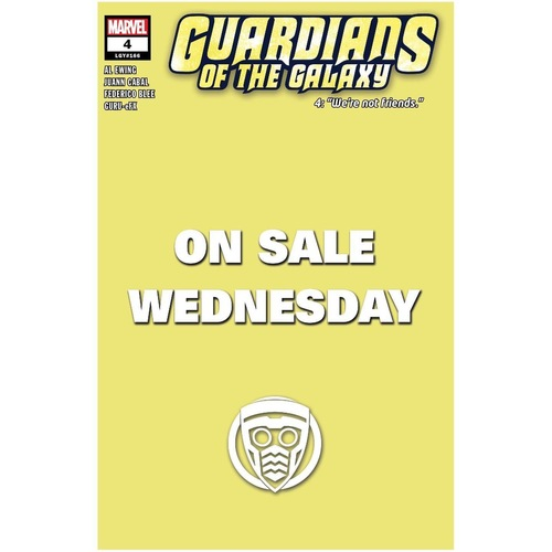 GUARDIANS OF THE GALAXY #4 MARVEL WEDNESDAY VAR