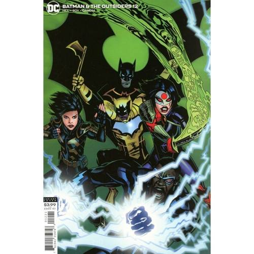 BATMAN AND THE OUTSIDERS #12 VARIANT EDITION