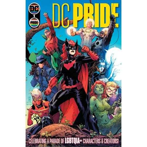 DC PRIDE #1 (ONE SHOT) CVR A JIM LEE SCOTT WILLIAMS TAMRA BONVILLAIN