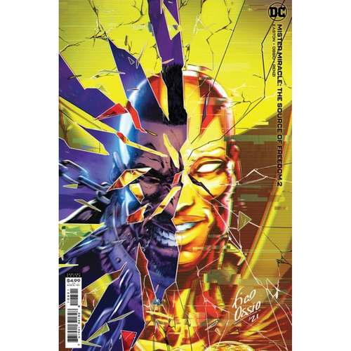 MISTER MIRACLE THE SOURCE OF FREEDOM #2 (OF 6) CVR B FICO OSSIO CARD STOCK VAR