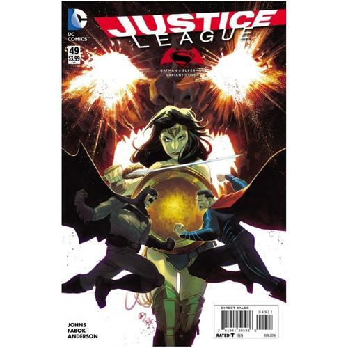 JUSTICE LEAGUE #49 VARIANT