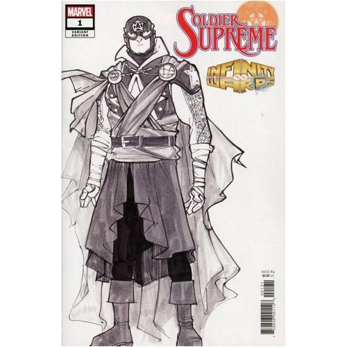 Infinity Warps: Soldier Supreme #1 1:10 Incentive Ramos Design Variant