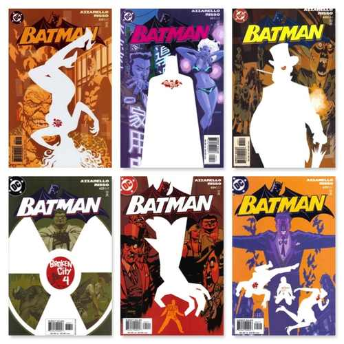 BATMAN #620 - #625 (6 PART STORY)