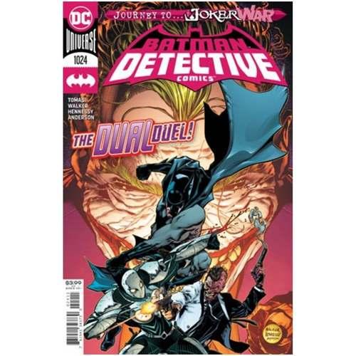 DETECTIVE COMICS #1024 CVR A BRAD WALKER (JOKER WAR)