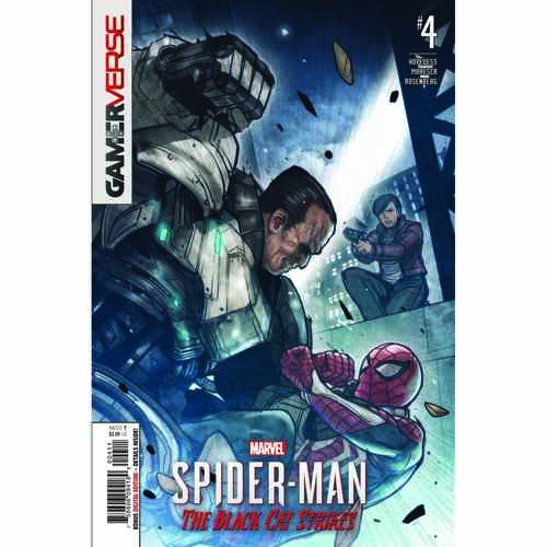 MARVELS SPIDER-MAN BLACK CAT STRIKES #4 (OF 5)
