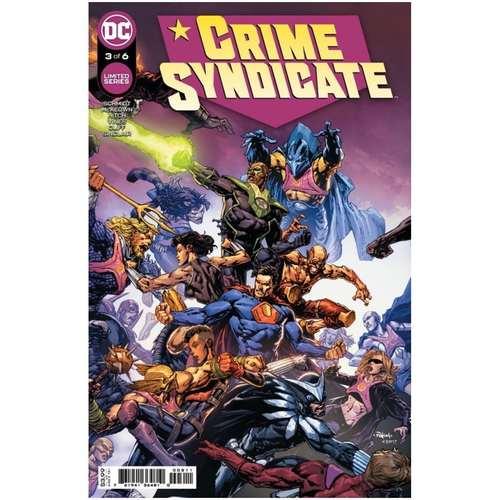CRIME SYNDICATE #3 (OF 6) CVR A DAVID FINCH
