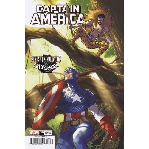 CAPTAIN AMERICA #30 CLARKE SPIDER-MAN VILLAINS VAR