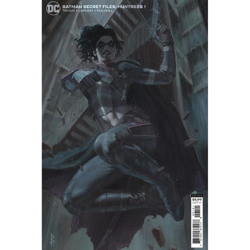 BATMAN SECRET FILES HUNTRESS #1 (ONE SHOT) CVR B RICCARDO FEDERICI CARD STOCK VAR