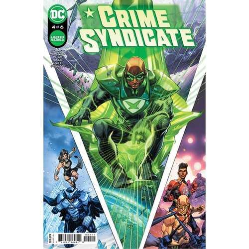 CRIME SYNDICATE #4 (OF 6) CVR A HOWARD PORTER