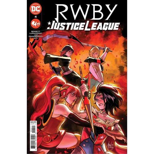 RWBY JUSTICE LEAGUE #4 (OF 7) CVR A MIRKA ANDOLFO