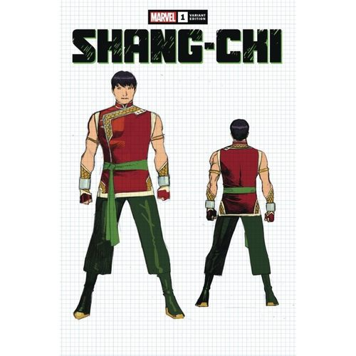 SHANG-CHI #1 (OF 5) CHEUNG DESIGN VAR