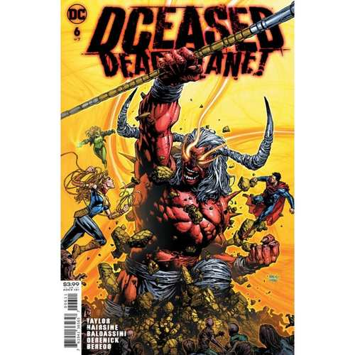 DCEASED DEAD PLANET #6 (OF 7) CVR A DAVID FINCH