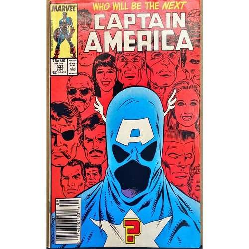 CAPTAIN AMERICA #333 NEWSTAND