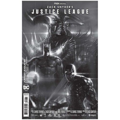 Justice League #59 Liam Sharp Black & White Snyder Cut Variant