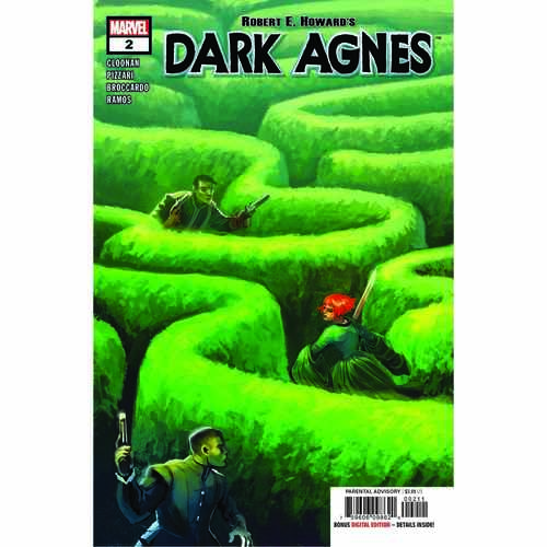 ROBERT E HOWARDS DARK AGNES 2 OF 5