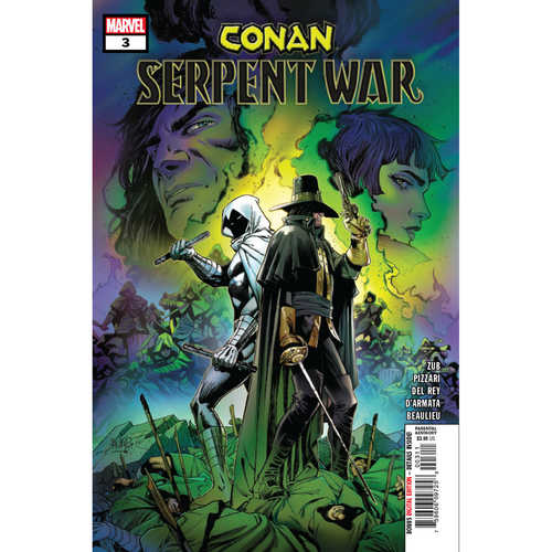 CONAN SERPENT WAR 3 OF 4