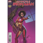 Invincible Iron Man #1 Scott Campbell Armor Variant Cover (Marvel Now Tie-In)