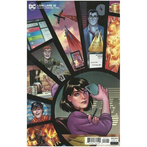 LOIS LANE #12 (OF 12) CVR B AMANDA CONNER VAR