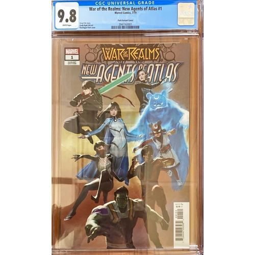 WAR OF THE REALMS : NEW AGENTS OF ATLAS #1 (1:25) CGC 9.8