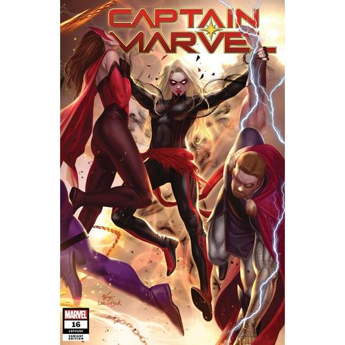 CAPTAIN MARVEL 16 INHYUK LEE CONNECTING VAR