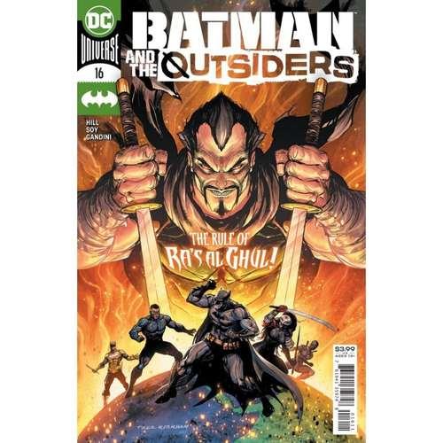 BATMAN & THE OUTSIDERS #16 CVR A TYLER KIRKHAM