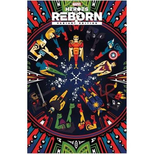 HEROES REBORN #1`1:50 Veregge Variant