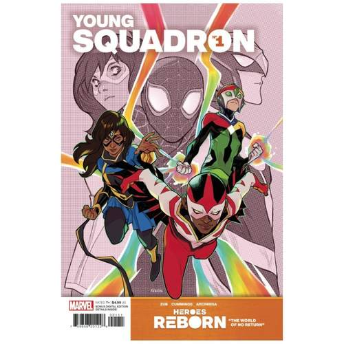 HEROES REBORN YOUNG SQUADRON #1