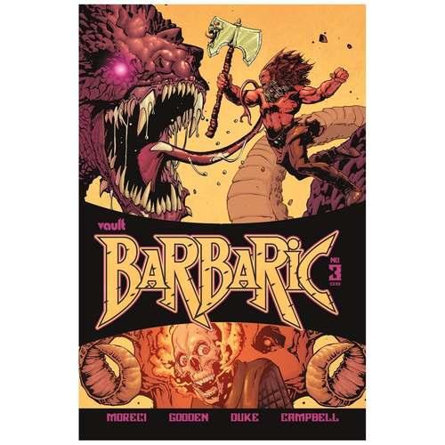 BARBARIC #3 CVR A GOODEN