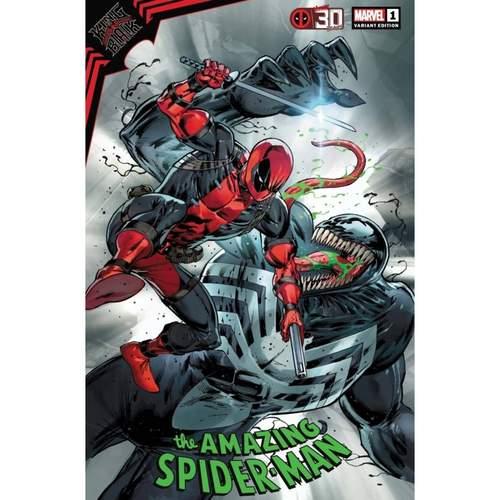 KING IN BLACK SPIDER-MAN #1 LIEFELD DEADPOOL 30TH VAR