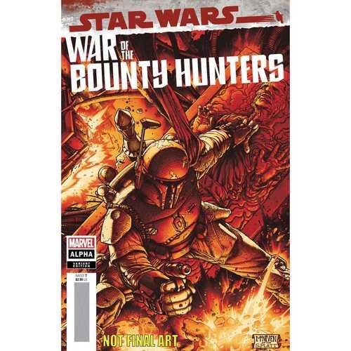 STAR WARS WAR BOUNTY HUNTERS ALPHA #1 MCNIVEN CRIMSON VAR